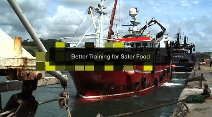 BTSF Food Hygiene Control Fishery Products Video